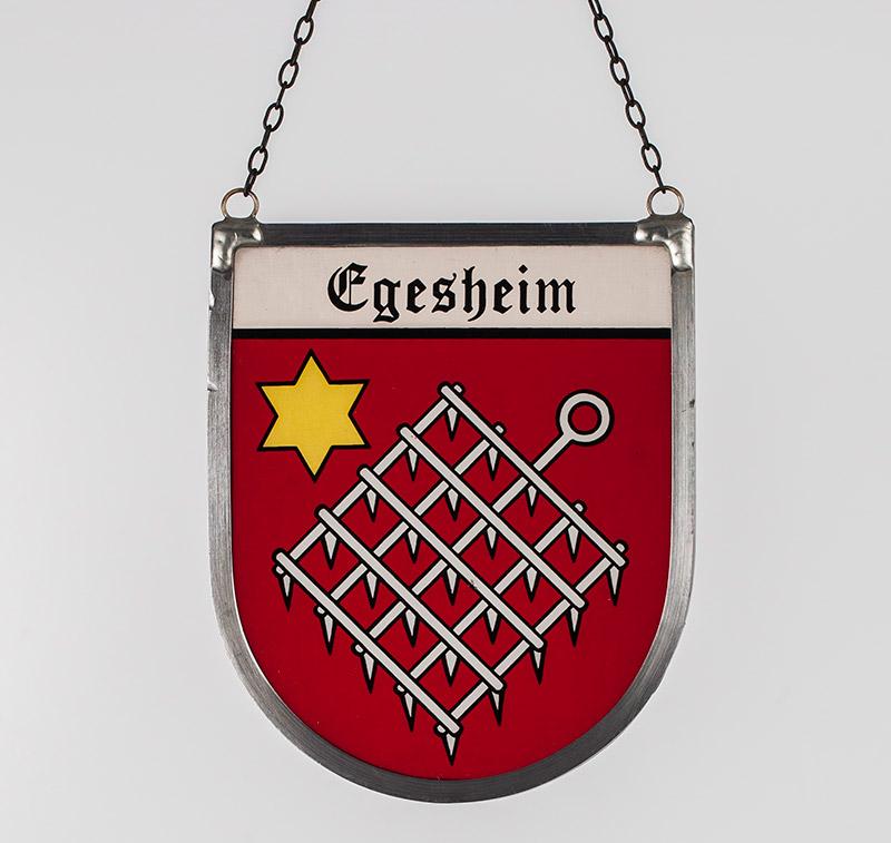 Gemeindewappen – Glaswappen für die Gemeinde Egesheim